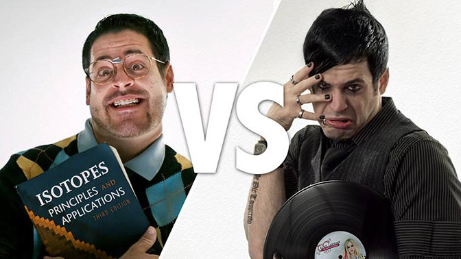 Emo vs. Nerd – The Epic Phlearn Photo Battle