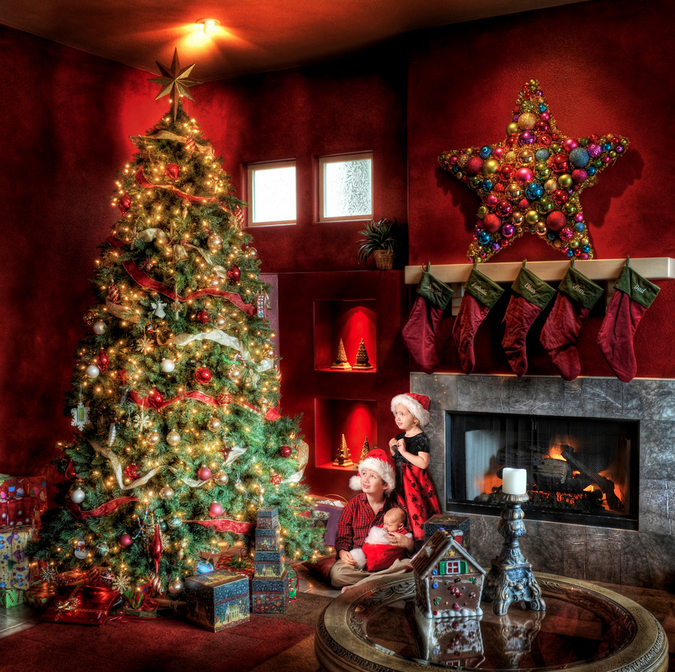 A Neo-Rockwellian Christmas by Trey Ratcliff
