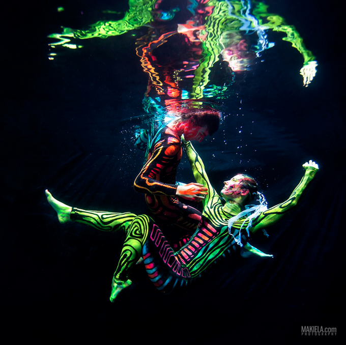 Black Light Ballet by Rafal Makiela