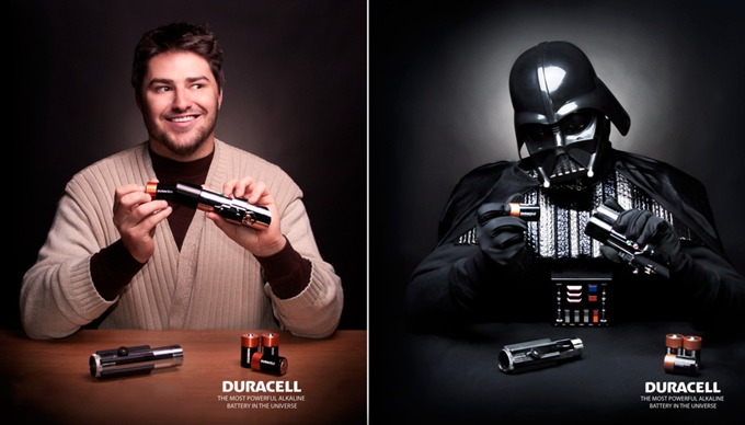 Light vs. Dark - Duracell by Drew Lundquist