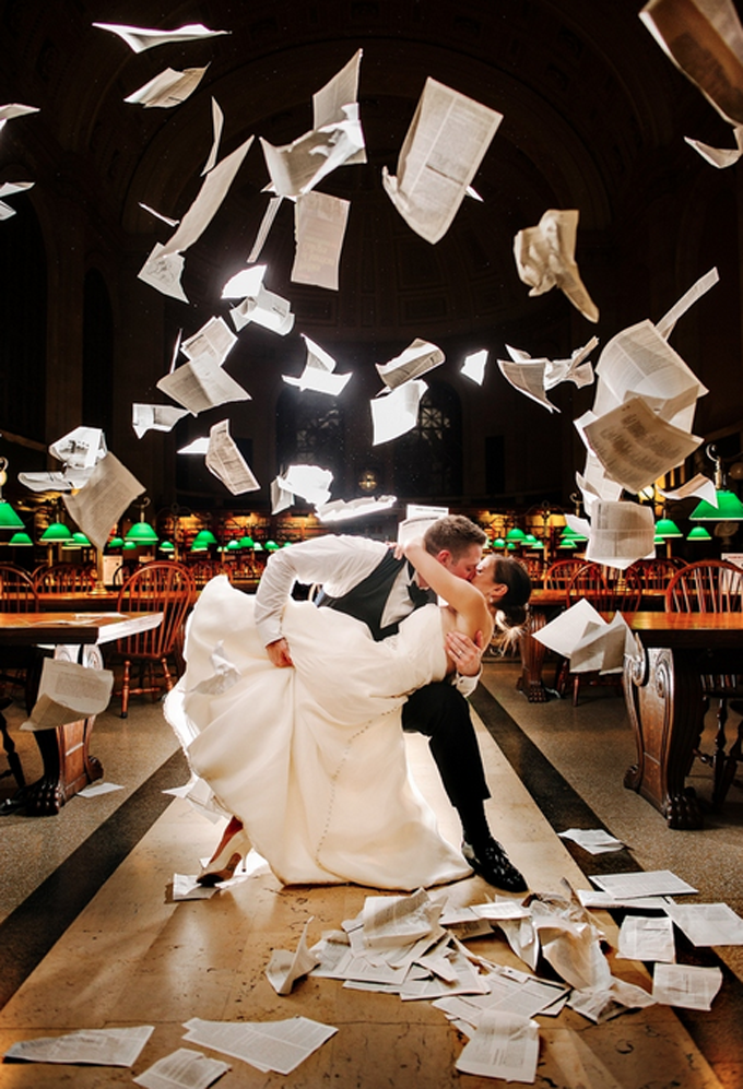 Tearing Up the Boston Public Library by Ryan Brenizer