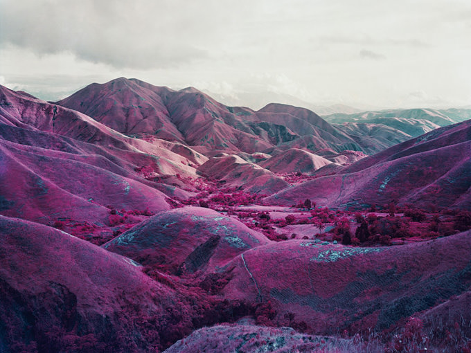 Nowhere To Run, South Kivu, Eastern Congo, 2010 by Richard Mosse