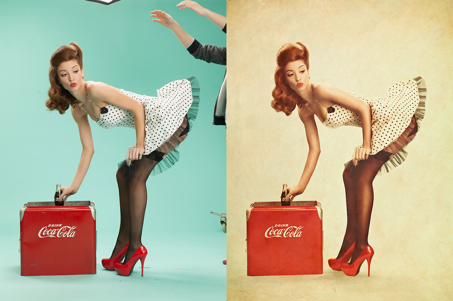 Phlearn PRO Pinup Cola Before After