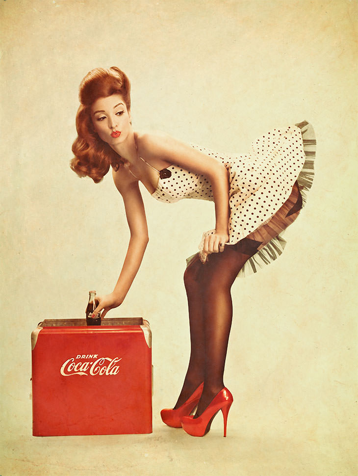 Phlearn PRO Photoshop Tutorial Pinup Cola