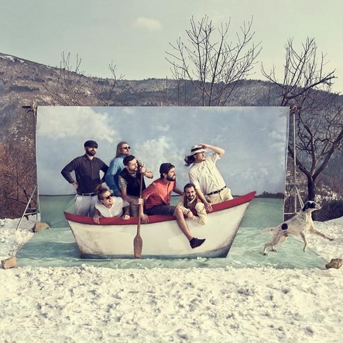Trimarano Boat by Azzurra Piccardi