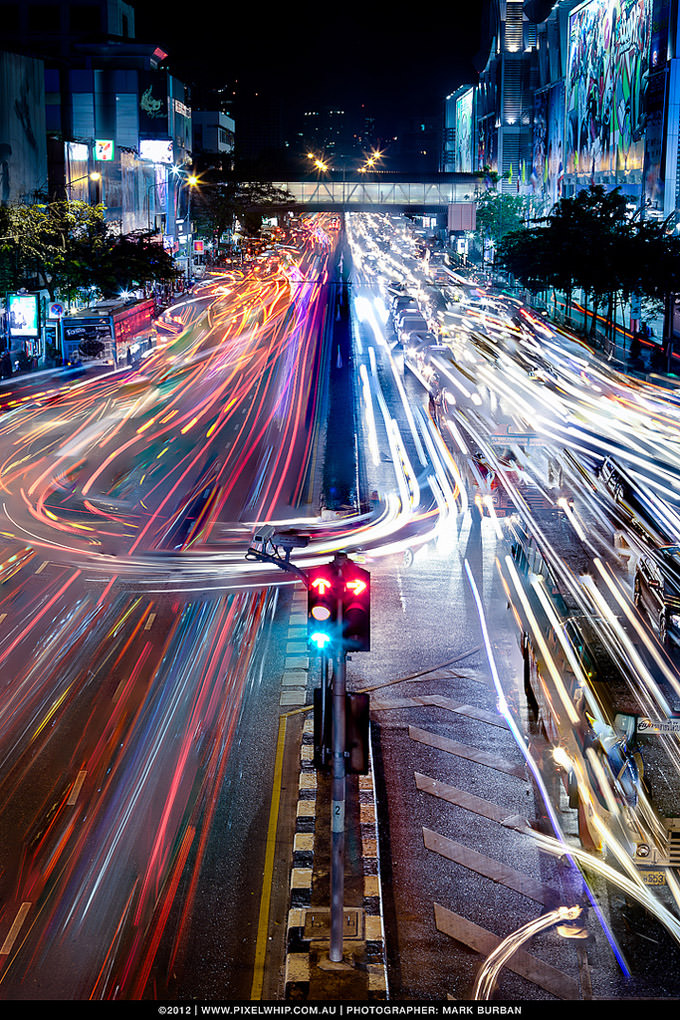 bangkok traffic 2012 by mark burban