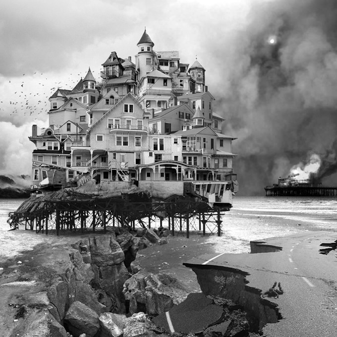 untitled (house) 2006 by Jim Kazanjian