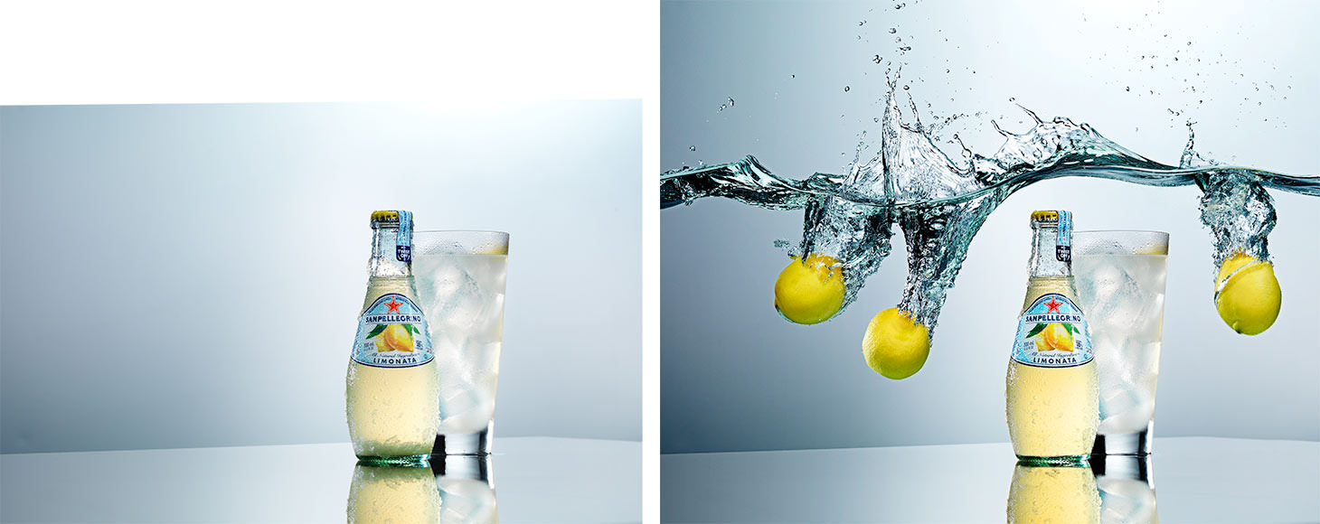 Phlearn PRO beverage retouch Before After