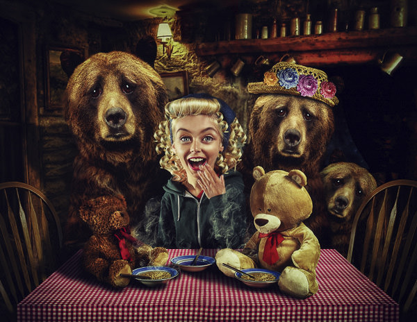 Goldilocks Caricature Project by Lee Howell