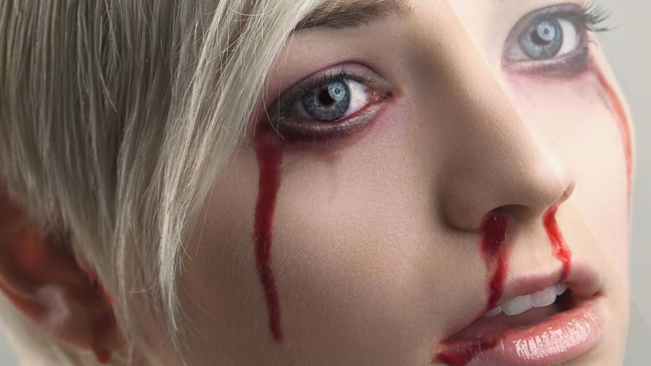 How to make Fake Blood In Photoshop