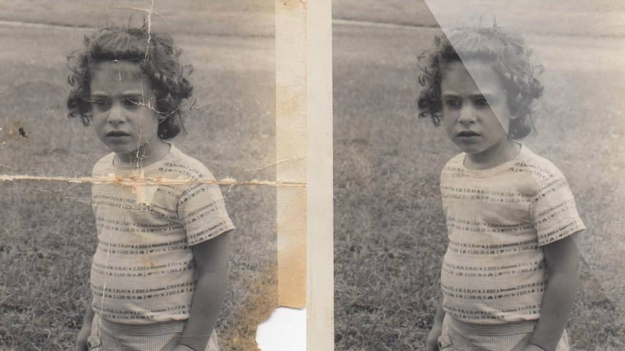 How to Repair an Old Photo Pt.2