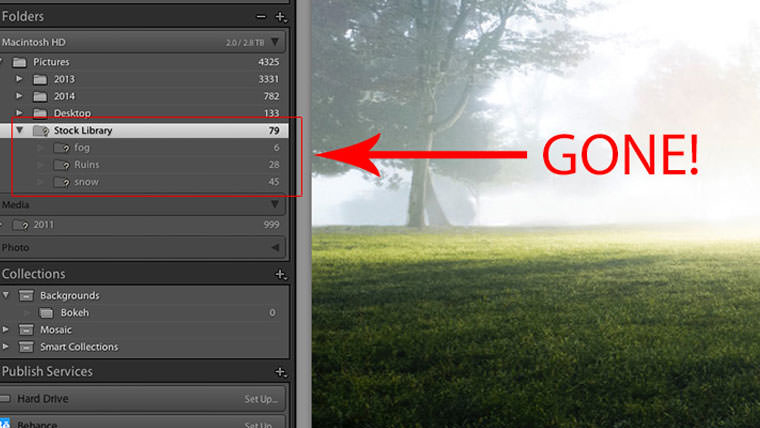 How Lightroom Can Come To The Rescue When Your Images Go MIA.