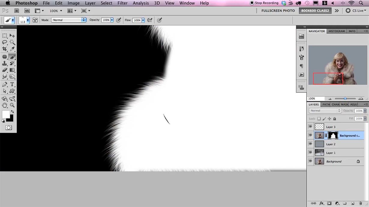 how to create layer mask