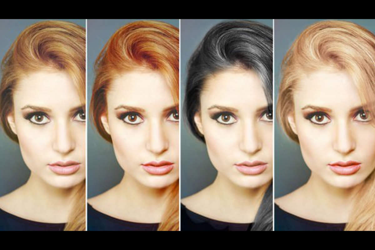 How To Change Hair Color In Photoshop Free Video Tutorial