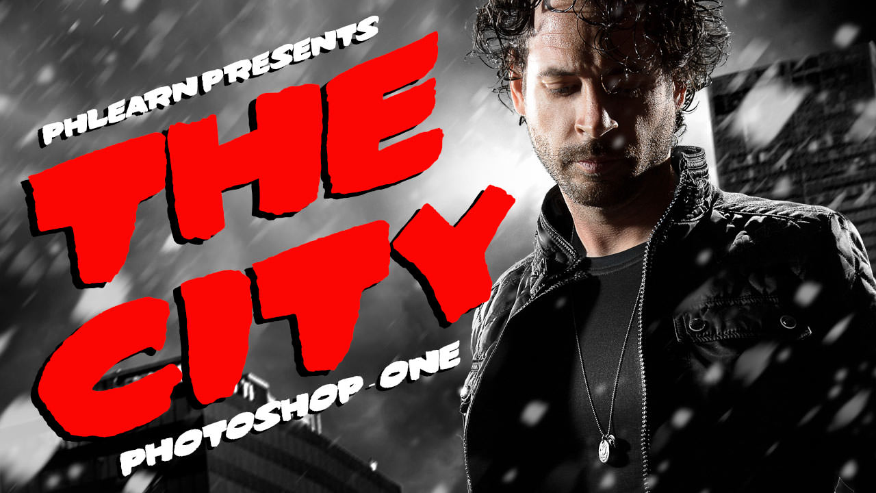 How to make a Sin City Portrait in Photoshop (Part 1 ...