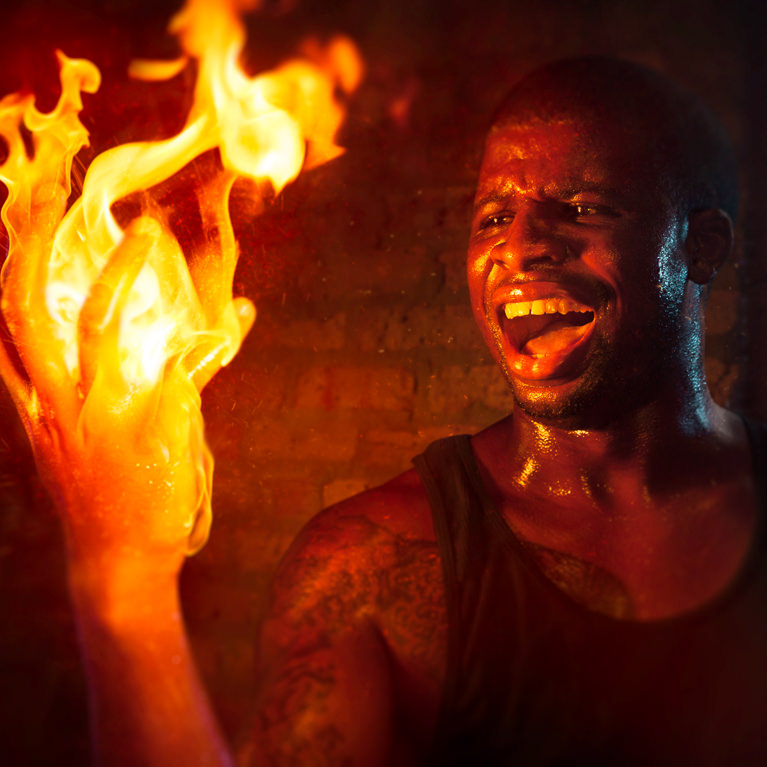 How To Add Fire Effects In Photoshop Phlearn