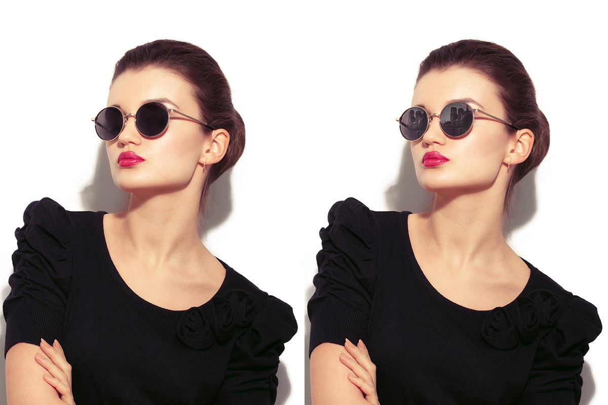 How to Remove Reflections from Sunglasses in Photoshop ...