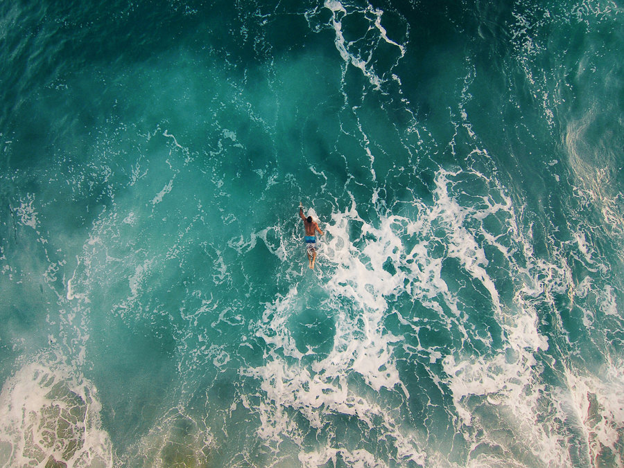About to catch a wave #fromwhereidrone by Dirk Dallas