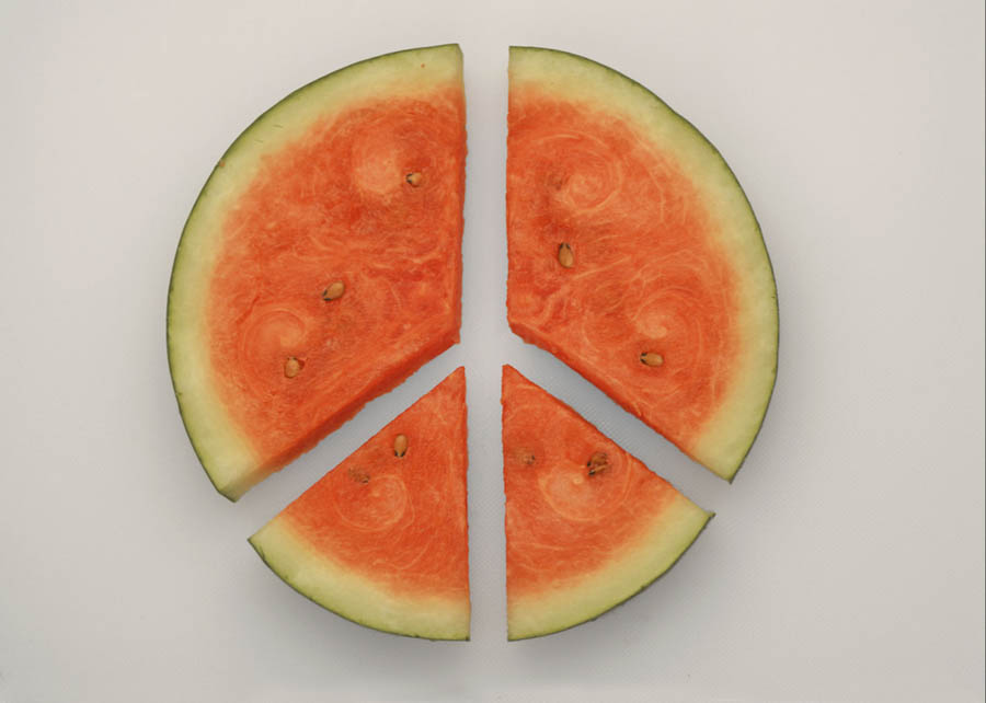 Finally some peace with Watermelon by Bhaskar Dutta