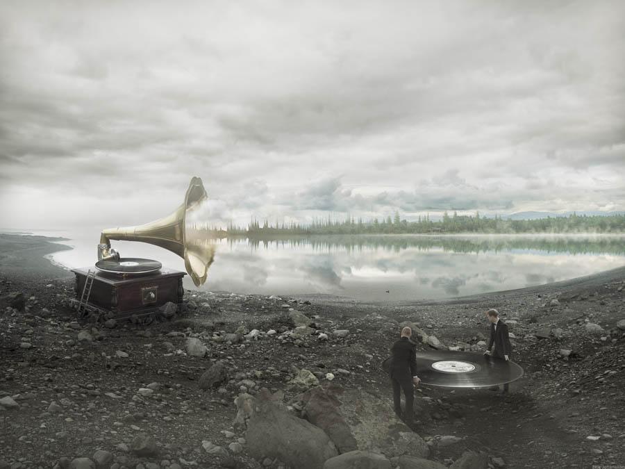 Soundscapes by Erik Johansson