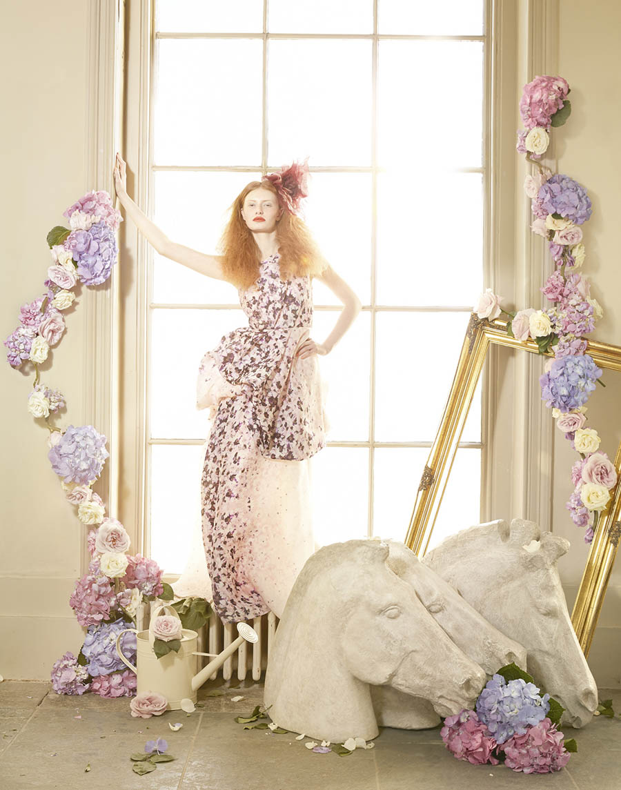 Tale of the Flower Girl Harrods Magazine by Lucia Giacani