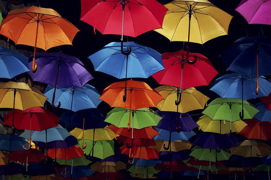 Umbrellas by Milica V