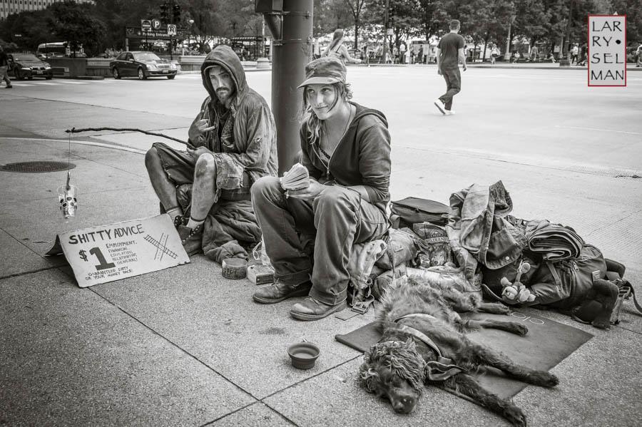 urban fishing by Larry Selman