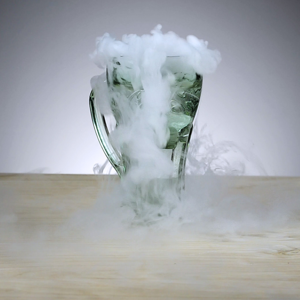 Smoke in a Cup Effect