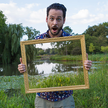 How to Create a See Through Frame Effect Photoshop