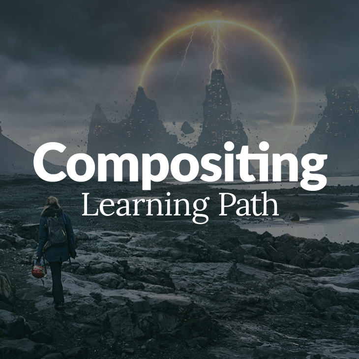 photoshop compositing learning path