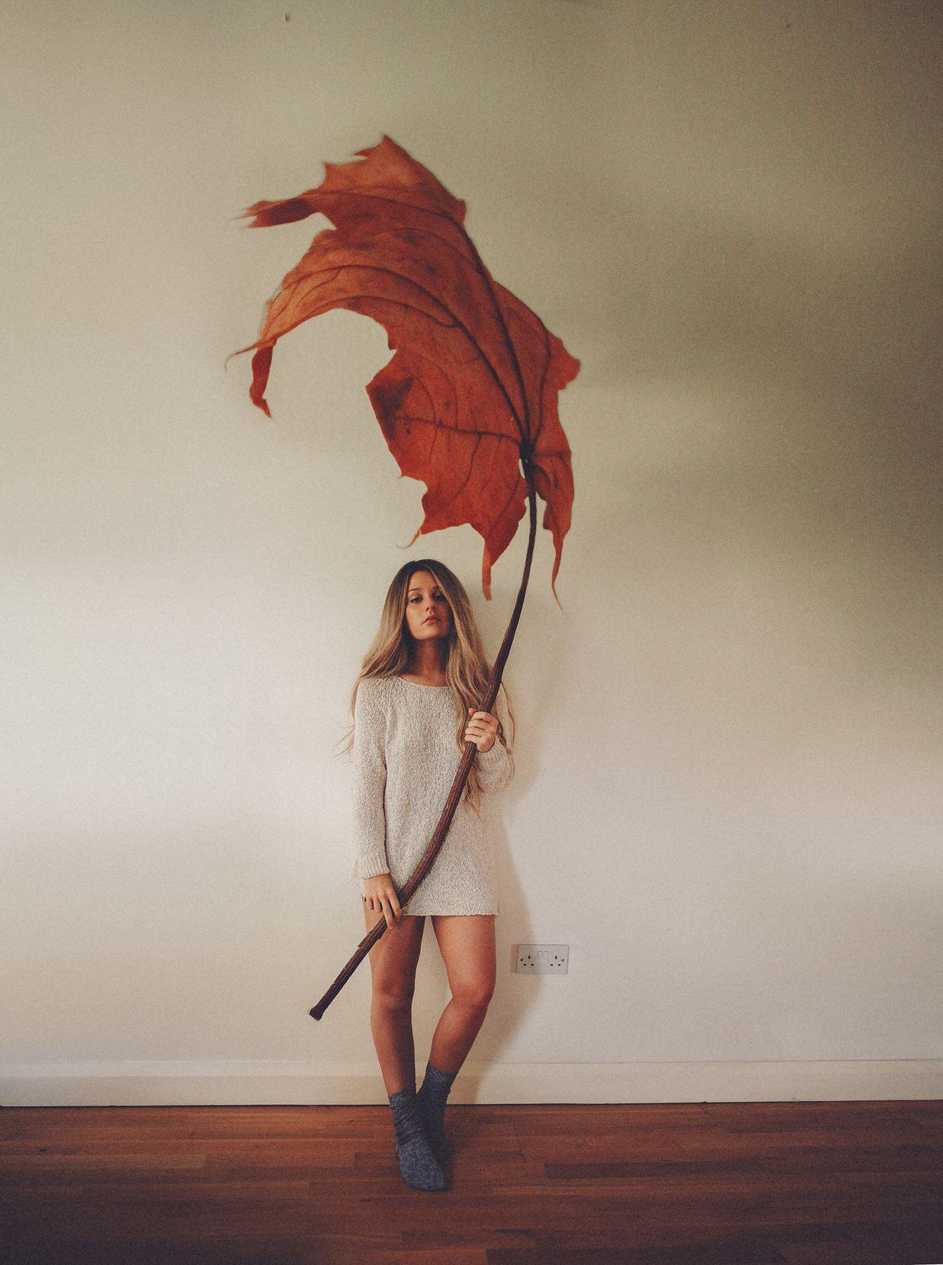 Rosie Hardy Giant Leaf Photo