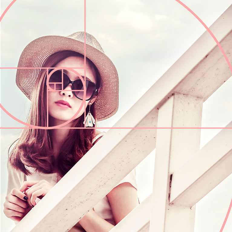 golden ratio composition photoshop