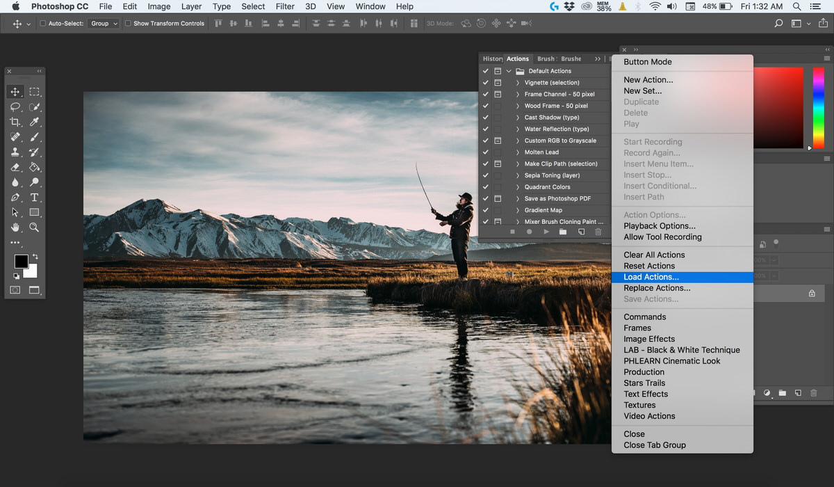 Create a Cinematic Look in Photoshop: Realistic Color Film