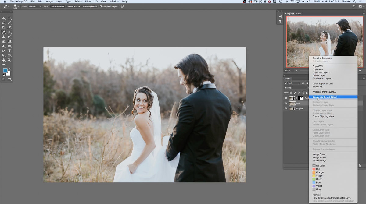 The Best Way to Blur Backgrounds in Photoshop + Add Depth-of-Field