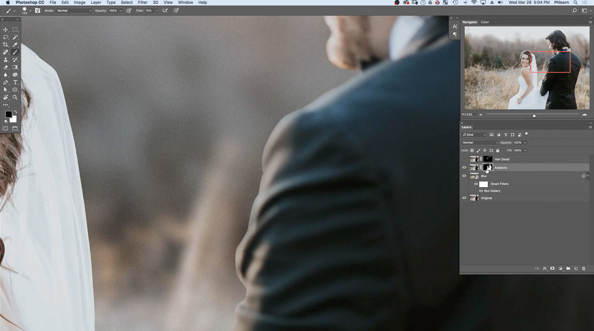 The Best Way to Blur Backgrounds in Photoshop + Add Depth-of
