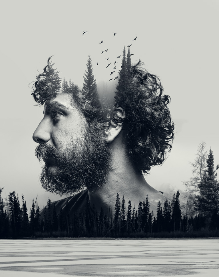 How to Make a Double Exposure in Photoshop + Downloadable ...