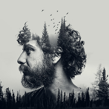 How to Make a Double Exposure in Photoshop + Downloadable Action