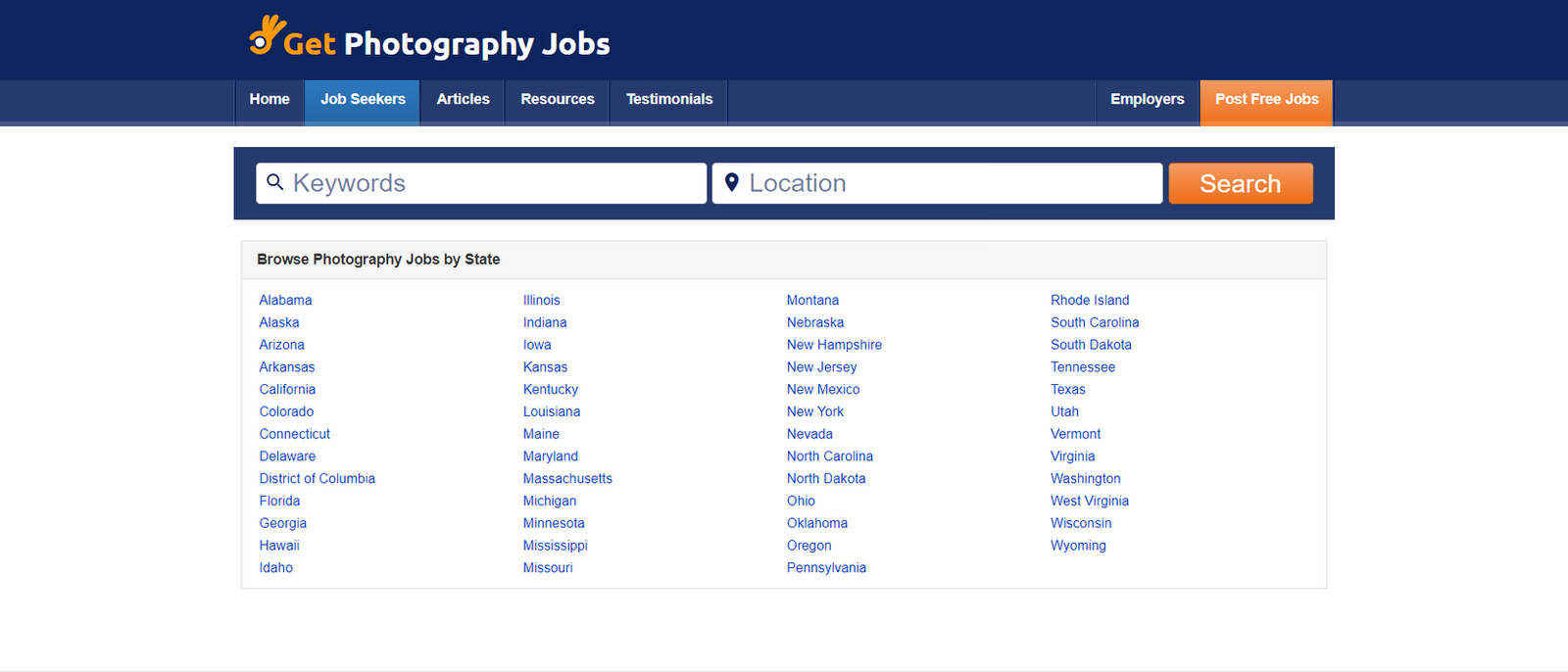 find photography jobs on get photography jobs
