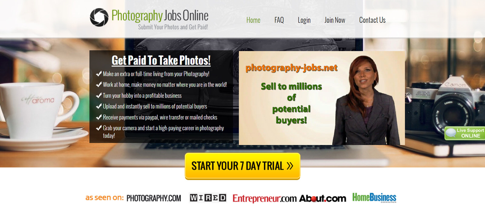 31 Places to Find Freelance Photography Jobs Online