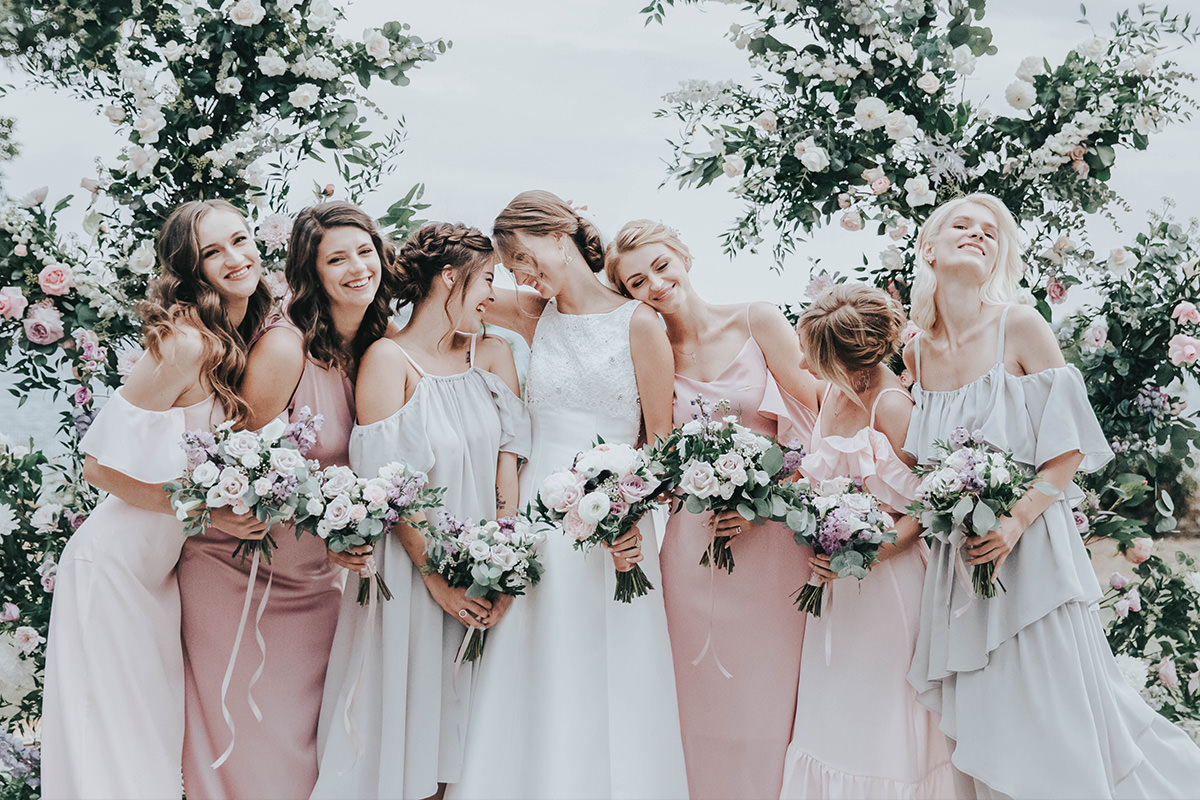neutral airy lightroom presets wedding party after