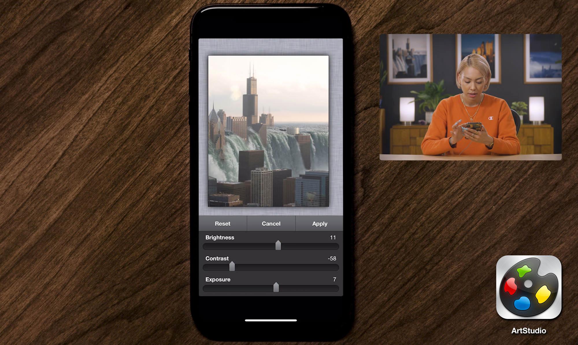 mobile phone editing elise swopes