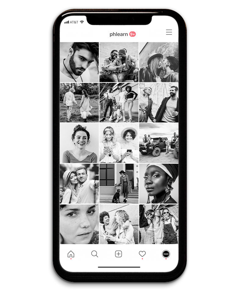 black and white lightroom presets instagram feed after