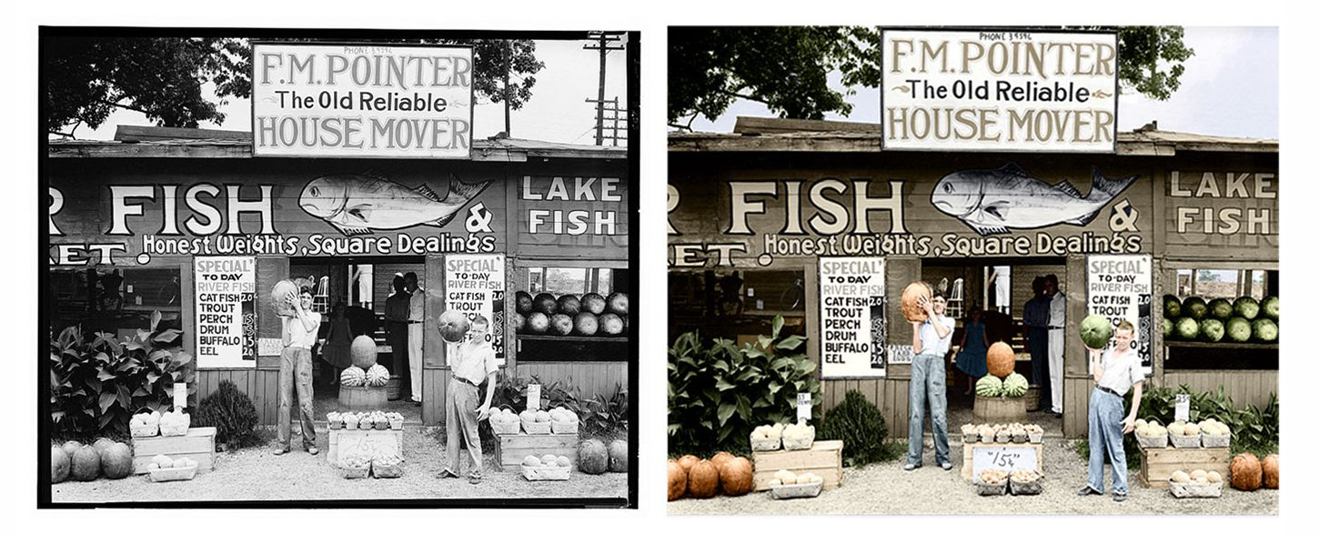 Adding Color to Black and White Photos