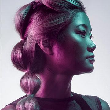 master retouching hair photoshop example 2