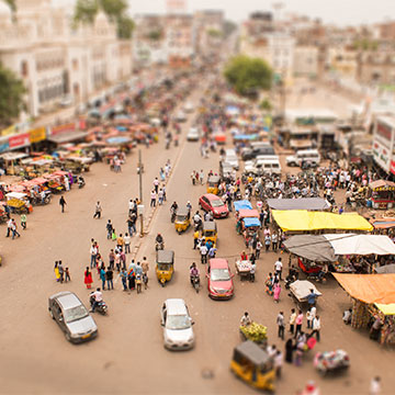 tilt shift effect photoshop