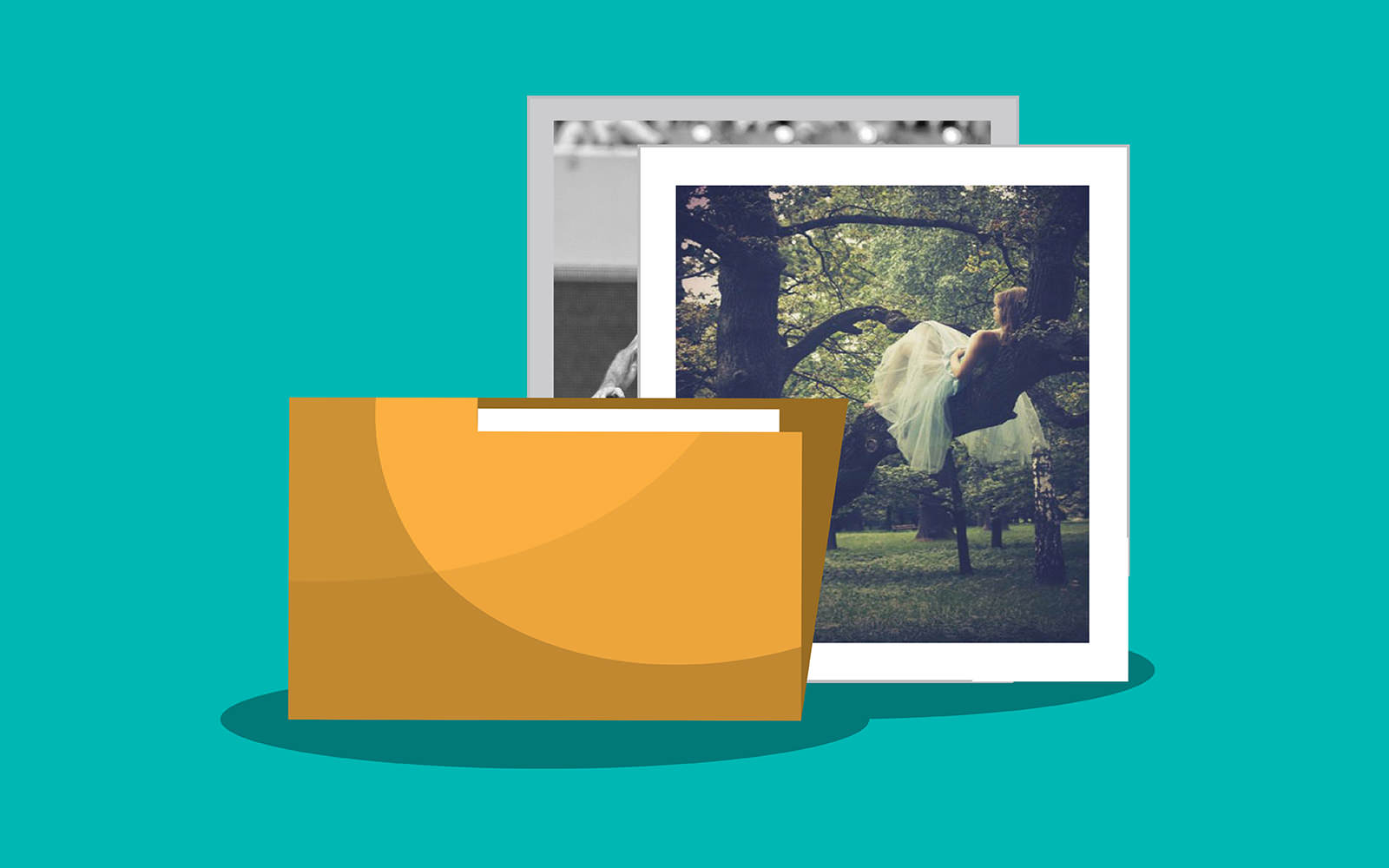 Using folders to organize your photos