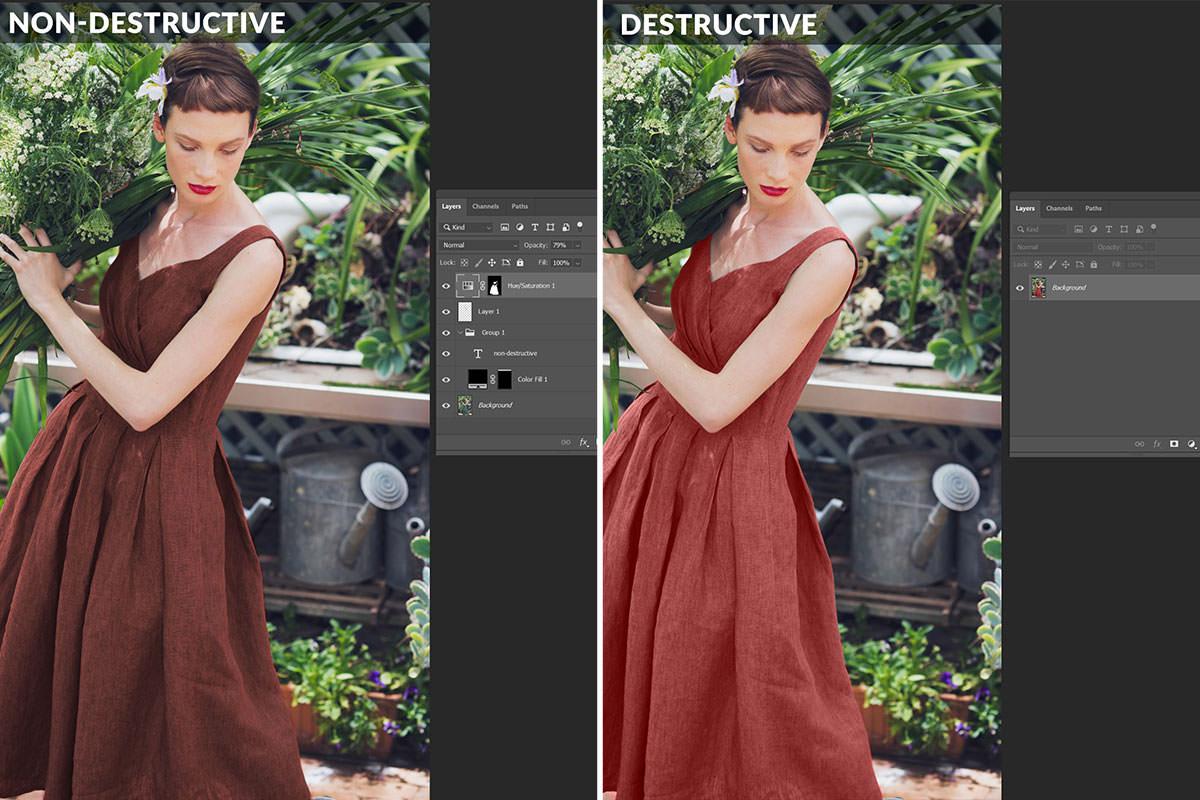 nondestructive editing photoshop