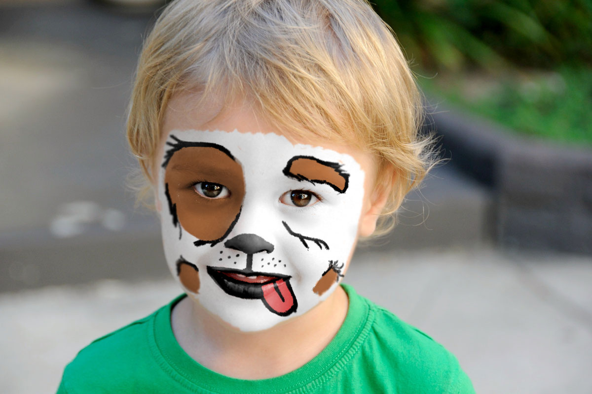 create face paint in photoshop after