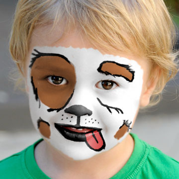 create face paint in photoshop thumbnail