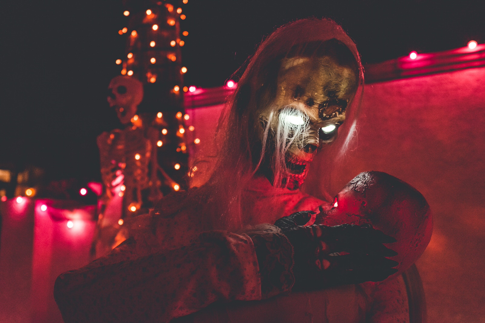 Halloween Photo Lighting Tips